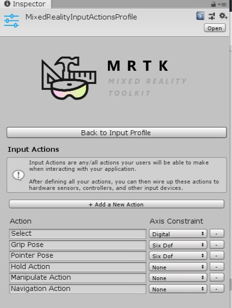 Getting Started with MixedRealityToolkit - v2 - Unicode